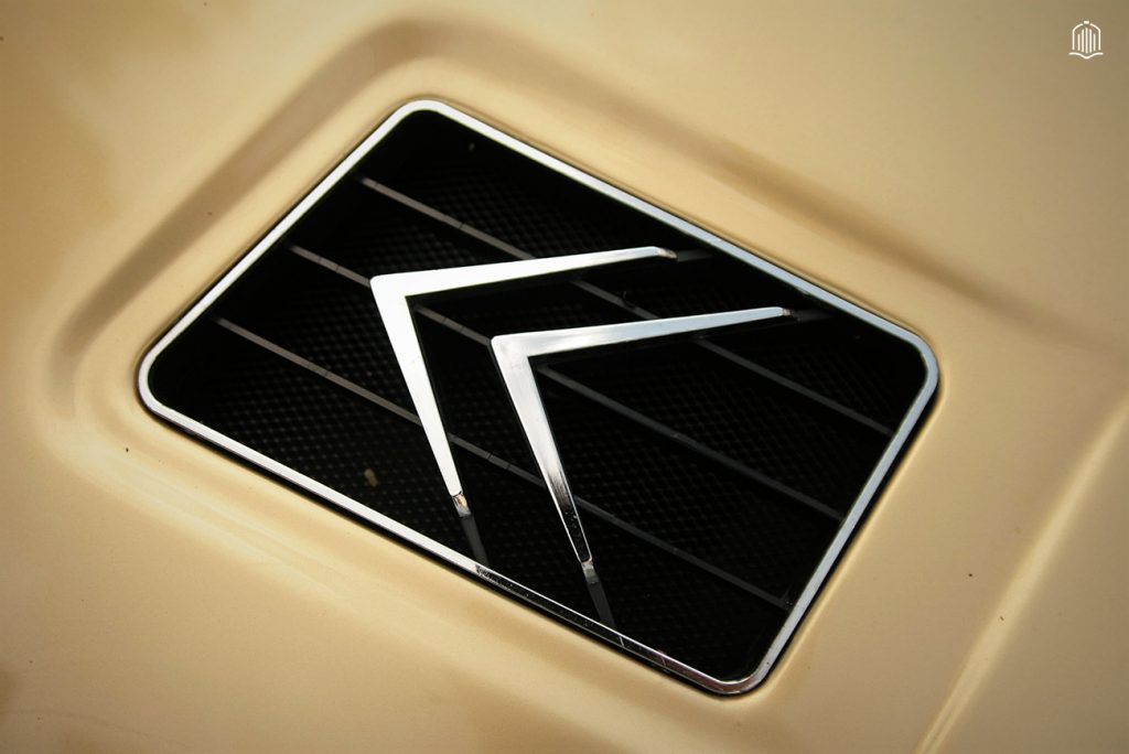 Badge Citroen SM